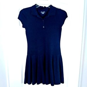 Place Girls Navy Blue Dress Size 10/12